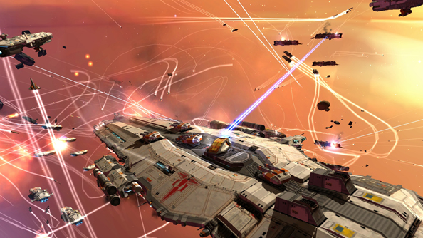 The Gearbox-made Homeworld Remastered series with see the games refitted for modern systems.