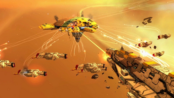 Best space game Homeworld Remastered Collection
