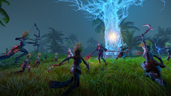Skyforge's Hostile Territories are new group areas about forcing bad guys into ghost trees