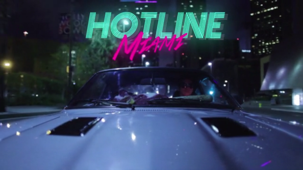 Hotline Miami short film looks like the bees knees. Bloodspattered knees