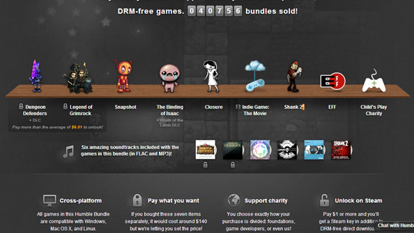 Humble Indie Bundle 7 has great games AND a movie
