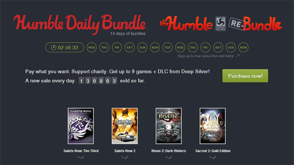 """Hold on to your butts"": two weeks of Humble Daily Bundles have already begun"