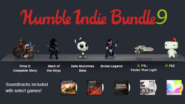 Humble Indie Bundle 9 headlined by FEZ and FTL