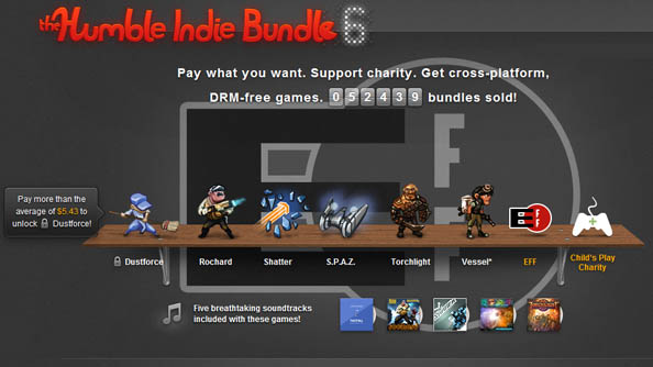 Humble Indie Bundle 6 launches with Dustforce, Vessel, Torchlight, and more