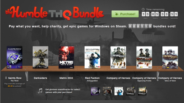 Humble THQ Bundle set to become most successful Humble Bundle ever