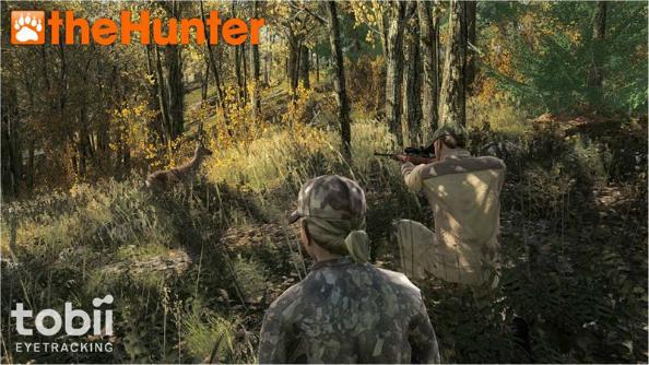 Tobii EyeX eye tracking lets you hunt with your eyeballs