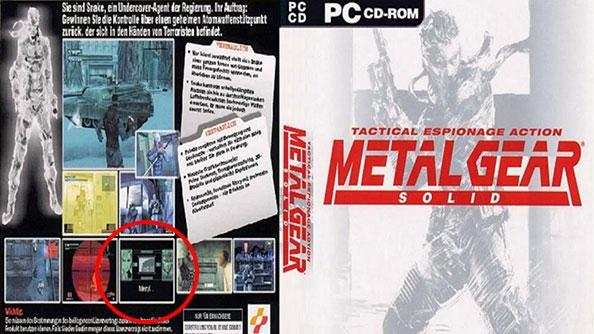 Metal Gear Solid box