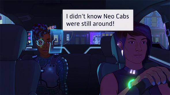 neo cab indie game