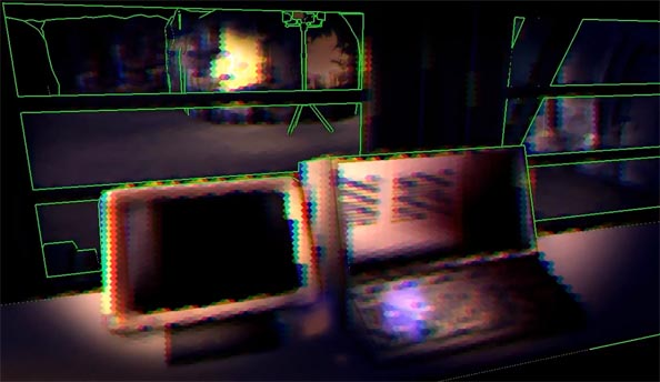 Indie god game Maia's first-person mode looks like a fever dream from the head of Alan Turing