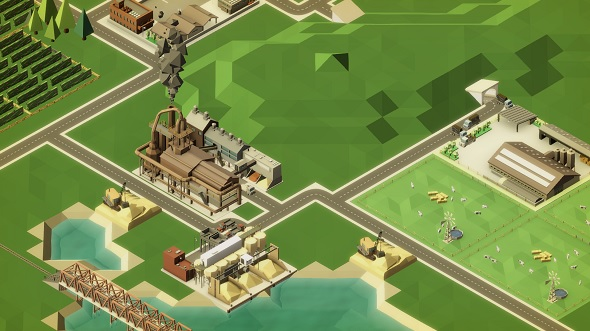 Rise of Industry is a gleefully-vindictive tycoon sim inspired by Transport Tycoon
