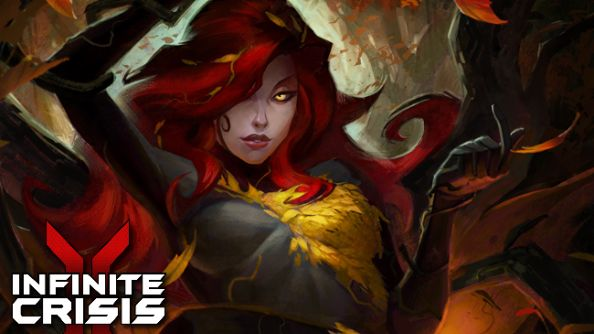 We've got 100 codes for Infinite Crisis' Poison Ivy and her Autumn skin. Would you like one?