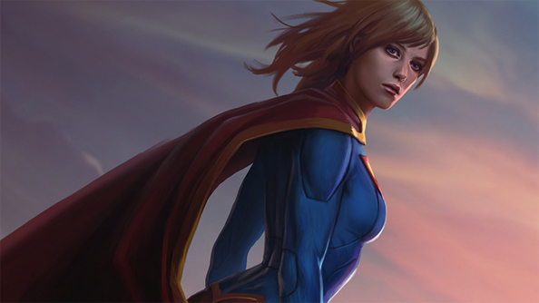 Welcome to the punch: Supergirl brings her brand of pugilism to Infinite Crisis