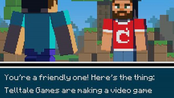 Let's take a second to appreciate that Mojang made an announcement within a text adventure