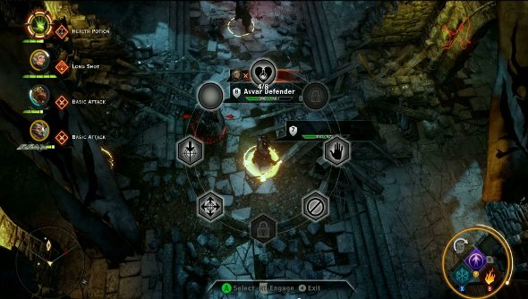 Dragon Age: Inquisition combat