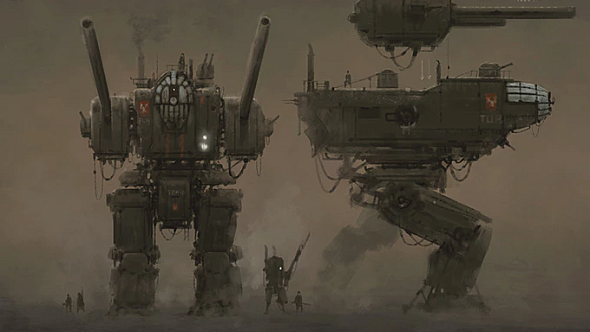 Iron Harvest concept art