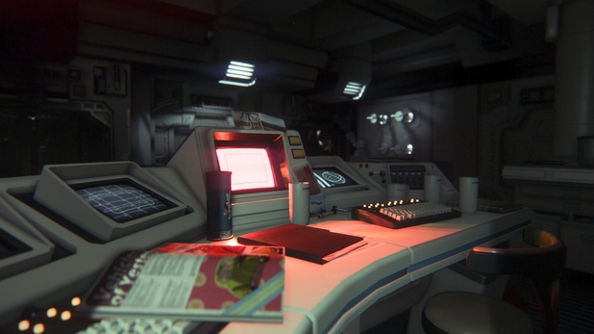 Alien: Isolation lo-fi