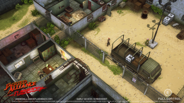 Jagged Alliance: Flashback heads to Steam Early Access, modding tools first
