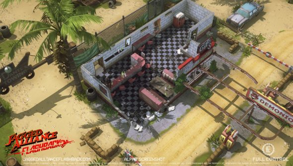 Jagged Alliance: Flashback enters alpha