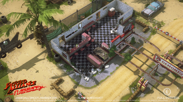 Jagged Alliance: Flashback enters alpha, with Steam Early Access hot on its heels