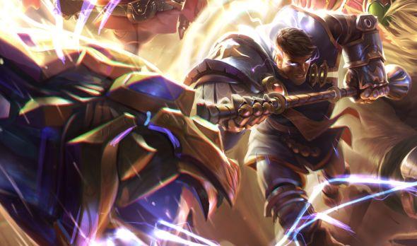 Jayce Brighthammer updated Splash art League of Legends patch 622
