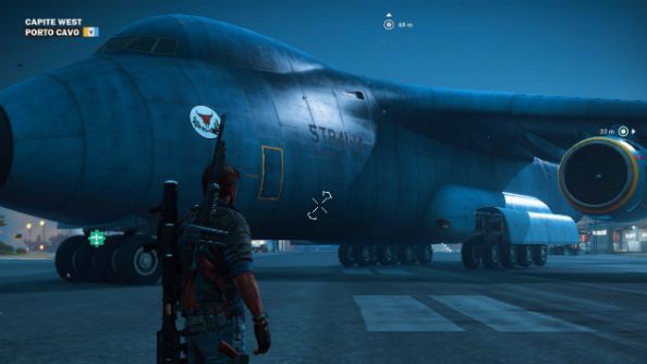 How to unlock the giant transport plane in Just Cause 3 without doing loads of story missions