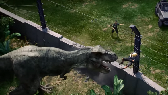 videos of jurassic world the game