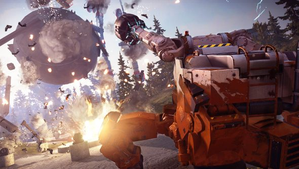 Just Cause 3 mechs