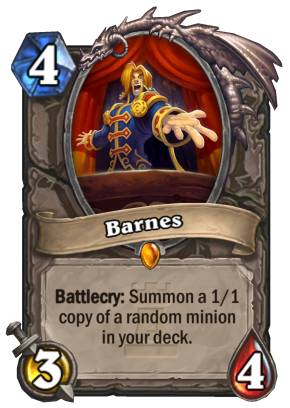 Karazhan Barnes