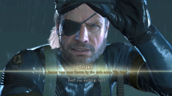 It looks like you might have to wait longer than you thought to play Metal Gear Solid 5