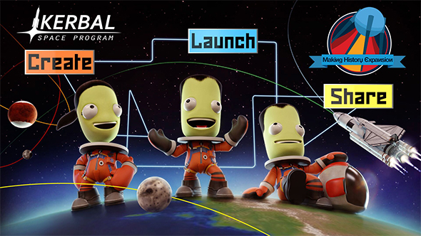 kerbal space program making history release date