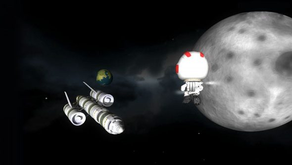 Kerbal Space Program benefitted hugely from the Steam Effect.