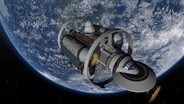 Kerbal Space Program IXS Enterprise