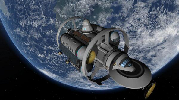 NASA put together an FTL vessel concept; it only took a couple of days for it to pop up in Kerbal Space Program