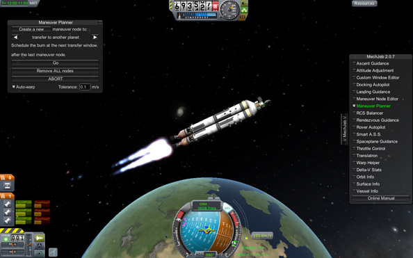 Kerbal Space Program: the universe is like a big McDonalds and we're