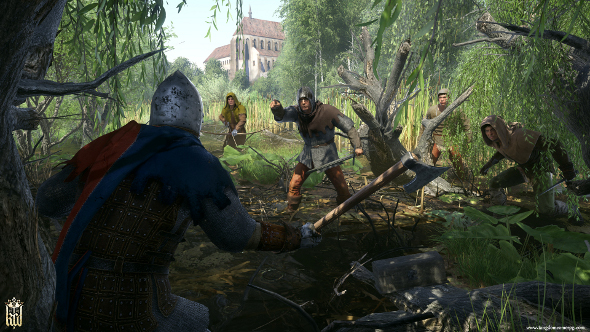 Kingdom Come: Deliverance's story trailer showcases dodgy voice acting and poo painting