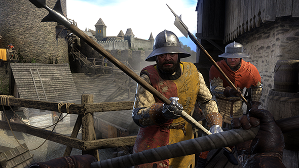 Kingdom Come Deliverance activities surrender