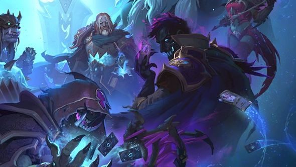 Knights Of The Frozen Throne Wallpaper: Knights Of The Frozen Throne Shows The Hearthstone Team