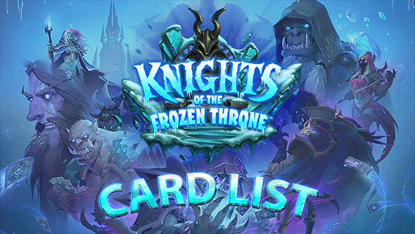 Knights of the Frozen Throne card list
