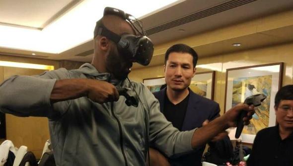 HTC Vive wireless kit Kobe Bryant