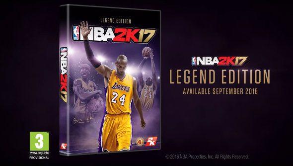 san francisco 85e9e 3303b Lakers legend Kobe Bryant s career lives on in the NBA 2K17 Legend Edition