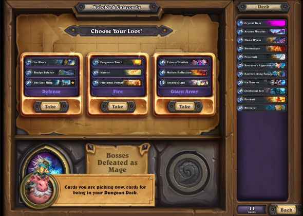 Dungeon Run UI