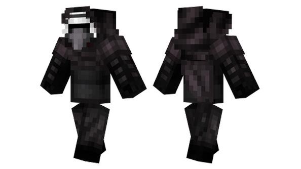 best minecraft skins kylo ren