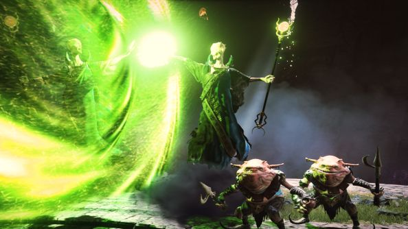 Here's a beautiful first glimpse at Brian Fargo's The Bard's Tale IV