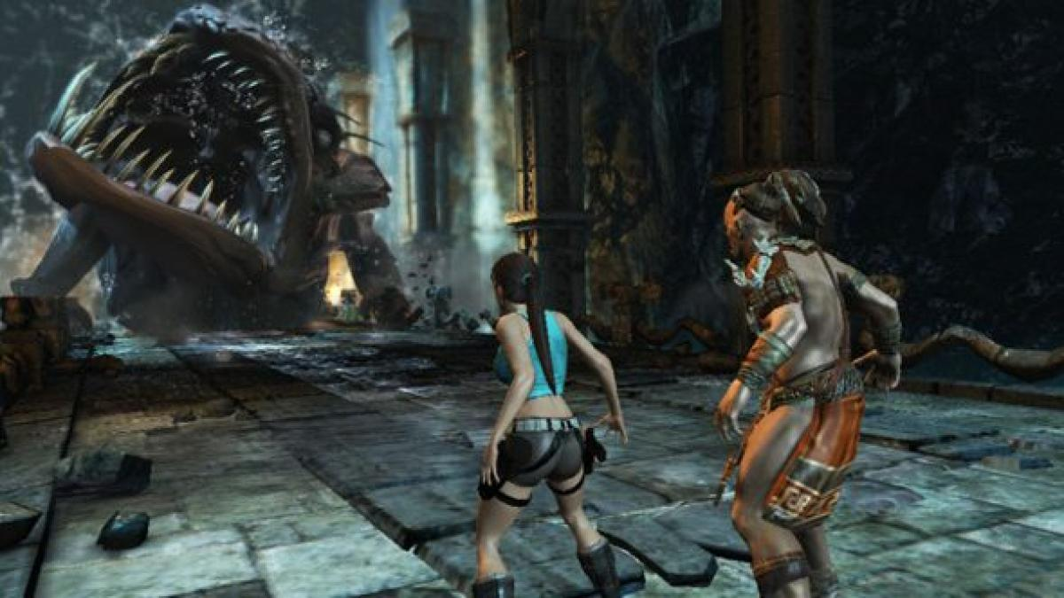 Here S A New Trailer For The Only Tomb Raider Game We Re Getting For A Good While Pcgamesn