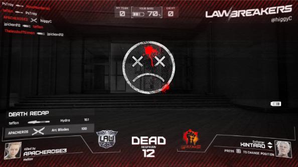 LawBreakers dead