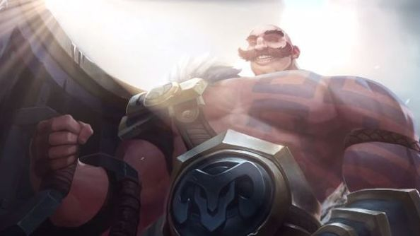 Riot cast the spotlight on League of Legends' new melee support specialist, Braum