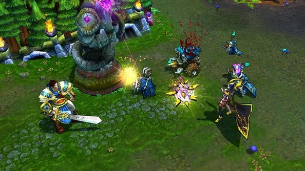 Usually Riot have to worry about League of Legends account hacks, not in-game exploits.