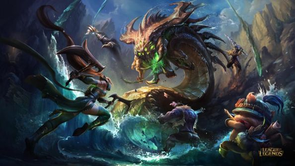 League of Legends player numbers: fairly strong, all told.