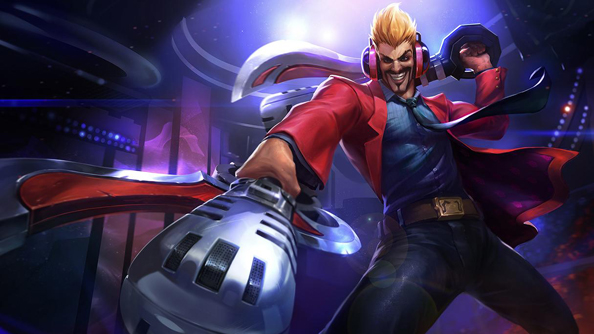 League of Legends' Primetime Draven wants to axe you a question