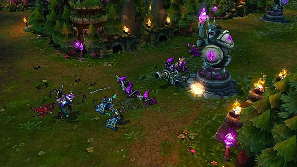League of Legends: troubled by bad behaviour.